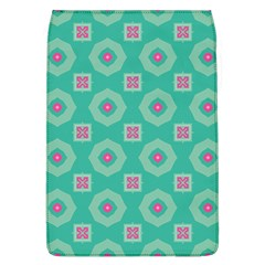 Pink Flowers And Other Shapes Pattern  			removable Flap Cover (l) by LalyLauraFLM