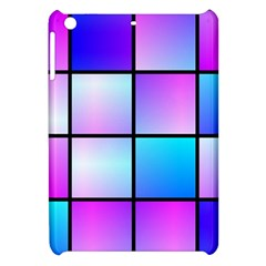 Gradient Squares Pattern  			apple Ipad Mini Hardshell Case by LalyLauraFLM