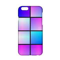 Gradient Squares Pattern  			apple Iphone 6/6s Hardshell Case by LalyLauraFLM