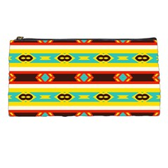 Rhombus Stripes And Other Shapes pencil Case by LalyLauraFLM