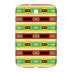 Rhombus Stripes And Other Shapes 			samsung Galaxy Note 8 0 N5100 Hardshell Case by LalyLauraFLM
