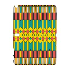 Shapes And Stripes  samsung Galaxy Note 10 1 (p600) Hardshell Case by LalyLauraFLM