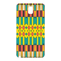 Shapes And Stripes  			samsung Galaxy Note 3 N9005 Hardshell Back Case by LalyLauraFLM