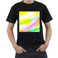 New 4 Men s T Shirt (black) (two Sided) by timelessartoncanvas