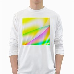 New 4 White Long Sleeve T Shirts by timelessartoncanvas