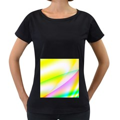 New 4 Women s Loose-Fit T-Shirt (Black) by timelessartoncanvas