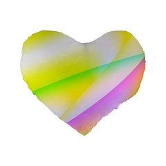 New 4 Standard 16  Premium Heart Shape Cushions by timelessartoncanvas