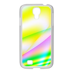 New 4 Samsung Galaxy S4 I9500/ I9505 Case (white) by timelessartoncanvas