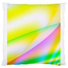 New 4 Large Flano Cushion Case (two Sides) by timelessartoncanvas