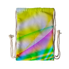 New 4 Drawstring Bag (small) by timelessartoncanvas