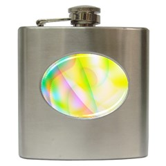 New 5 Hip Flask (6 Oz) by timelessartoncanvas