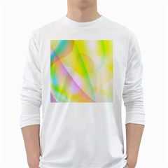 New 5 White Long Sleeve T Shirts by timelessartoncanvas