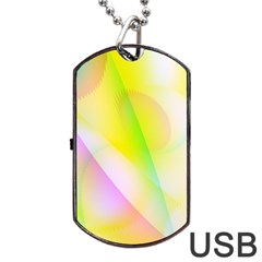 New 5 Dog Tag Usb Flash (two Sides)  by timelessartoncanvas