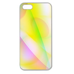 New 5 Apple Seamless Iphone 5 Case (clear) by timelessartoncanvas