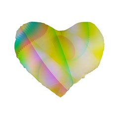 New 5 Standard 16  Premium Flano Heart Shape Cushions by timelessartoncanvas