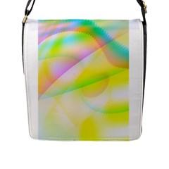 New 6 Flap Messenger Bag (l)  by timelessartoncanvas