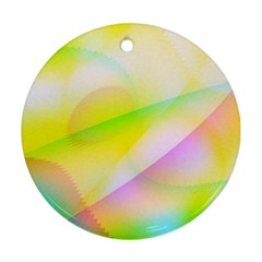 New 7 Ornament (round)  by timelessartoncanvas