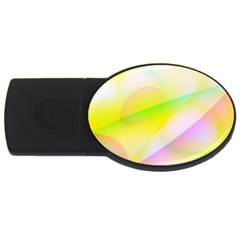 New 7 Usb Flash Drive Oval (4 Gb)  by timelessartoncanvas