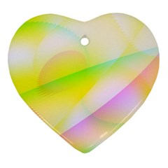 New 7 Heart Ornament (2 Sides) by timelessartoncanvas