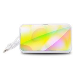 New 7 Portable Speaker (White)  by timelessartoncanvas