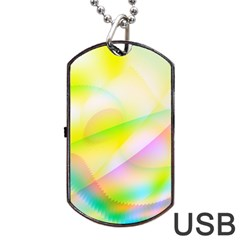 New 7 Dog Tag Usb Flash (one Side) by timelessartoncanvas