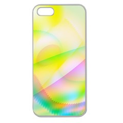 New 7 Apple Seamless Iphone 5 Case (clear) by timelessartoncanvas
