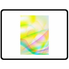 New 7 Double Sided Fleece Blanket (large)  by timelessartoncanvas