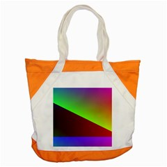 New 8 Accent Tote Bag by timelessartoncanvas