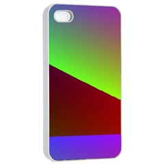 New 8 Apple Iphone 4/4s Seamless Case (white) by timelessartoncanvas