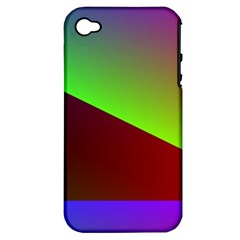 New 8 Apple Iphone 4/4s Hardshell Case (pc+silicone) by timelessartoncanvas
