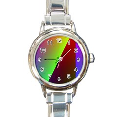 New 9 Round Italian Charm Watch by timelessartoncanvas
