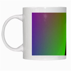 New 9 White Mugs by timelessartoncanvas