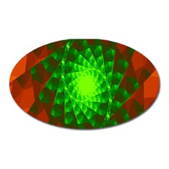 New 10 Oval Magnet by timelessartoncanvas