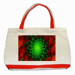 New 10 Classic Tote Bag (red) by timelessartoncanvas