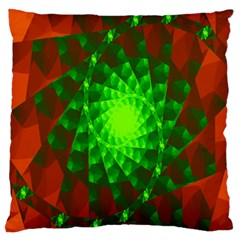 New 10 Large Cushion Case (one Side) by timelessartoncanvas