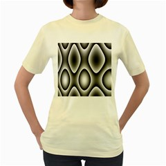 New 11 Women s Yellow T Shirt by timelessartoncanvas