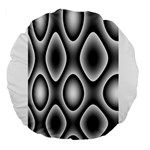 New 11 Large 18  Premium Round Cushions Front