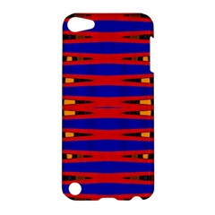 Bright Blue Red Yellow Mod Abstract Apple Ipod Touch 5 Hardshell Case