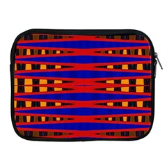 Bright Blue Red Yellow Mod Abstract Apple Ipad 2/3/4 Zipper Cases
