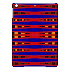 Bright Blue Red Yellow Mod Abstract Ipad Air Hardshell Cases