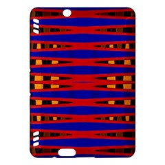 Bright Blue Red Yellow Mod Abstract Kindle Fire Hdx Hardshell Case