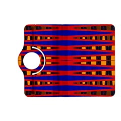 Bright Blue Red Yellow Mod Abstract Kindle Fire Hd (2013) Flip 360 Case by BrightVibesDesign