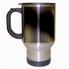 New 12 Travel Mug (silver Gray) by timelessartoncanvas