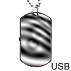 New 12 Dog Tag Usb Flash (one Side) by timelessartoncanvas