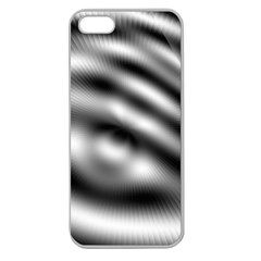 New 12 Apple Seamless Iphone 5 Case (clear) by timelessartoncanvas