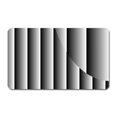 New 13 Magnet (rectangular) by timelessartoncanvas