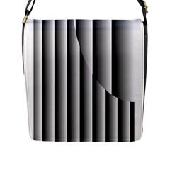 New 13 Flap Messenger Bag (l)  by timelessartoncanvas
