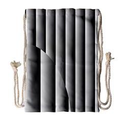 New 14 Drawstring Bag (large) by timelessartoncanvas