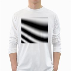 New 15 White Long Sleeve T Shirts by timelessartoncanvas