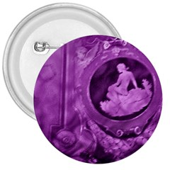 Vintage Purple Lady Cameo 3  Buttons by BrightVibesDesign